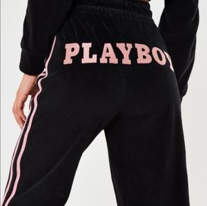 *Limited Edition* Velour Playboy Wide Leg Pants